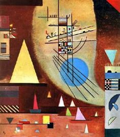 Silent by Wassily Kandinsky Wassily Kandinsky, Henri Matisse, Abstract Expressionism, Abstract Art, Klimt, Psychedelic Art, Oeuvre D'art, Art And Architecture, Art History