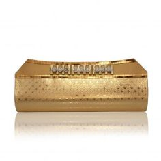 Golden Shiny Handbag Clutch