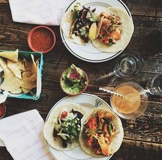 At ANTIQUE TACO in Wicker Park, find the freshest available foods from the Midwest blended with chef owner's Mexican heritage. Antique Taco, Greens Restaurant, Organic Recipes, Ethnic Recipes, Mexican Heritage, Chicago Restaurants, Bakeries, Wicker, Foods
