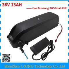 Down tube Hailong battery 36V 13Ah 500W 36V 13AH lithium battery with USB Port Use Samsung 2600mah cell US EU Free Tax