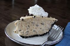 Chocolate Chip Peanut Butter Pie - Just like Original Oyster House
