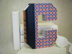 BOOK LETTER C Anthropologie Book Art Cut Books by TwistedPages, $15.99