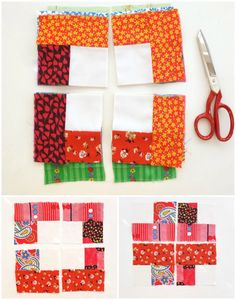 A fun and easy quilt to just jump in and sew, great for kids or people whe what a break from precission! Get inspired with thousands of fabrics from the Fabric Shack at http://www.fabricshack.com/cgi-bin/Store/store.cgi Repinned: 'the haphazard quilt' from mypoppet.com.au
