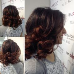 Bouncy blow out