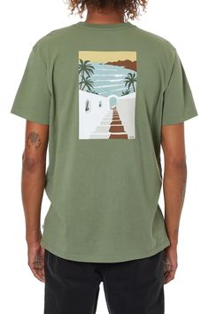 Men's Organic Cotton Graphic Tees - Katin USA Stairways, Organic Cotton, Graphic Tees, Mens Tops, T Shirt, Usa, Collection, Christmas, Style