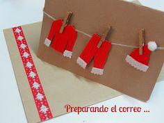 Celebra con Ana | Compartiendo experiencias creativas: Tarjetas de Navidad en Kraft