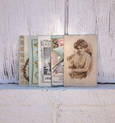 Set of 5 1900s Postcards