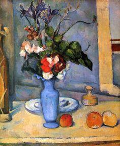Il Vaso blu, di Paul Cézanne (storia e analisi del quadro)