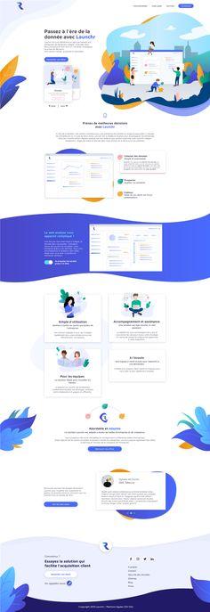 Solution de web analyse et de marketing en ligne, Launchr simplifie l'accès à la donnée client en permettant aux entreprises d'utiliser leur site web comme levier d'acquisition. Acquisition, Client, Site Web, Solution, Comme, Map, Online Marketing, Mathematical Analysis, Business