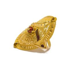 ALRZ025 New Jewellery Design, Gold Work, India Jewelry, Cuff Bracelets, Gold Rings, Motivational, Roses, Apps, Brooch