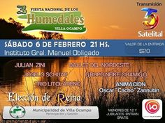 6 Febrero Villa Ocampo - Fiesta de los Humedales 2016 | Region Litoral