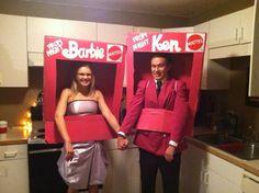 Barbie & Ken - mint condition (NIB) #ThinkGeekoween @BarbieStyle