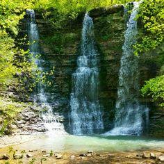 Triple Falls near the Buffalo River in Arkansas
