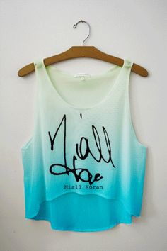 Tie Dye One Direction Signatures | fresh-tops.com