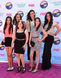 Cimorelli TCA 2012 - Lauren, Christina, Katherine, Lisa, Dani and Amy <3