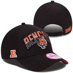 e4c2556ab40 New Era Cincinnati Bengals Ladies 2013 NFL Draft 9FORTY Adjustable Hat -  Black Nfl Shop
