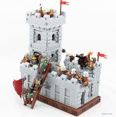 Battle for the Imperial City: A LEGO® creation by A P : MOCpages.com