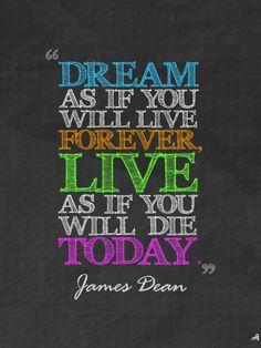 James Dean #quote