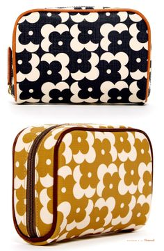 Orla Keily Shadow Dot Print Makeup Bags / A Cute #Gift Idea