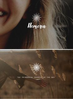HEMERA was the the primordial goddess (protogenos) of the day. She was a daughter of Erebos (Darkness) and Nyx (Night) and the sister and wife of Aither (Aether, Heavenly Light).