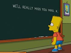 The Simpsons pay tribute to late Marcia Wallace with touching chalkboard opening from Bart Simpson