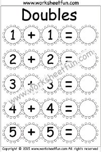 32 Best Doubles & Doubles Plus One images | Free printable ...