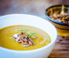Spiced Winter Root Vegetable Soup (Gluten Free + Vegan) - GoodnessGreen