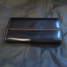 Lodis black and red wallet Nice wallet with lots of space for everything you need to hold. Lodis Bags Wallets