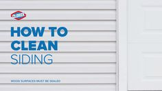 Want an easy solution to keeping your siding clean? Bet you wood!
