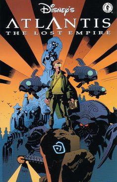 Disney's _Atlantis : The Lost Empire_ comic book adaptation by Mike Mignola (2001)