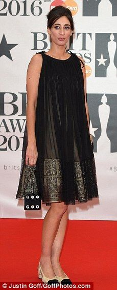 3179655e3273 Stars arrive in style on the the red carpet at the 2016 BRIT Awards
