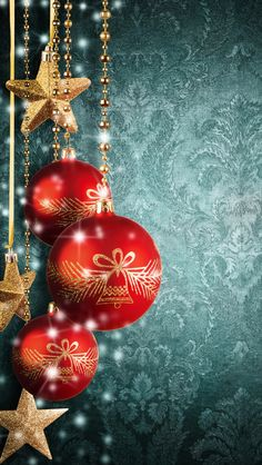 Christmas balls Apple iPhone 5s hd wallpapers available for free download.