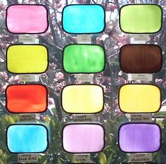 Gallery Glass Class: Color Charts