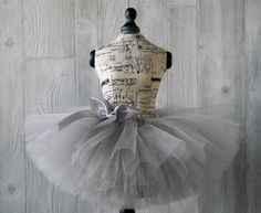 Hey, I found this really awesome Etsy listing at https://www.etsy.com/listing/180073834/shimmer-silver-tutu-gray-tutu-baby-tutu