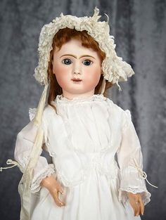 "24"" French bisque bebe by... Auctions Online 