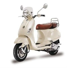 Vespa LXV 125 Scooter (in the absence of a vintage Vespa). I'd love to zip round the city on this in the summer!
