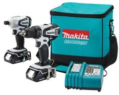 Makita LCT200W 18-Volt Compact Lithium-Ion Cordless 2-Piece Combo Kit by Makita, http://www.amazon.com/dp/B000V2DSE2/ref=cm_sw_r_pi_dp_e6avqb02FJEFB
