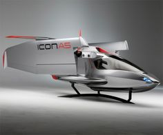 ICON Sport Aircraft | DudeIWantThat.com