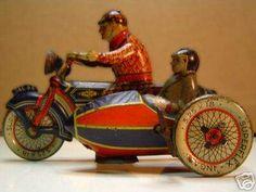 moto giocattolo ingap anni 20 30