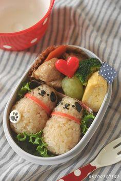 「わんちゃんのお弁当」:キャラ弁連載:15分でできる簡単キャラクター弁当:レシピブログ - tutorial