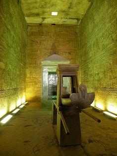 ホルス神殿内部