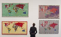 ALIGHIERO BOETTI http://www.widewalls.ch/artist/alighiero-boetti/ #arte #povera #conceptual #art