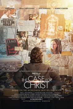 The Case for Christ on DVD August 2017 starring Mike Vogel, Erika Christensen, Faye Dunaway, Robert Forster. In Lee Strobel's award-winning investigative reporting earned him a promotion to legal editor at the Chicago Tribune. Faye Dunaway, Good Christian Movies, Christian Films, Christian Faith, Christian Living, Film 2017, 2017 Movies, Imdb Movies, Cinema Movies