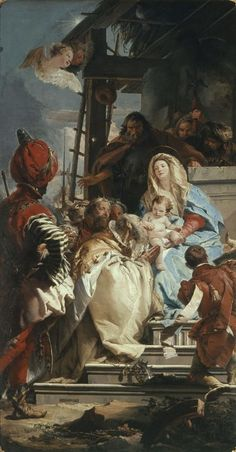 Giovanni Battista Tiepolo - The Adoration of the Kings - Pictify - your social art network