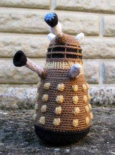 Crocheted Dalek!