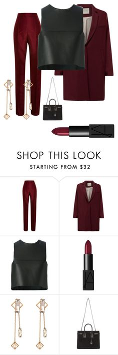 """""""Untitled #27"""" by edens-paradise ❤ liked on Polyvore featuring Rosie Assoulin, American Vintage, Fendi, NARS Cosmetics, Helene Zubeldia and Yves Saint Laurent"""