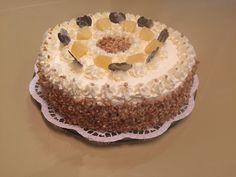 Ananas-Nuss-Torte