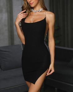 Dress Short Evening Bodycon Party Mini Womens Cocktail Sleeveless Bandage Club - Ideas of Bandage Dress Club Outfits For Women, Summer Outfits Women, Clothes For Women, Daily Fashion, Look Fashion, Party Dresses Online, Party Dresses For Women, Dress Online, Look Disco