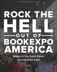 BookExpo America is approaching fast!! Since this will be my third year attending (and my second year speaking at Blogger Con! Don't forget that!) I thought I'd offer a few pieces of advice. Join the BookExpo America Goodreads group This group has been invaluable to me every single year. There are topics about registering, signings, …