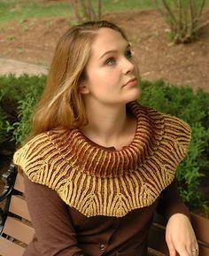 Ravelry: Willow pattern by Elaine Phillips, free Knitty brioche pattern
